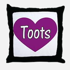 Toots Throw Pillow