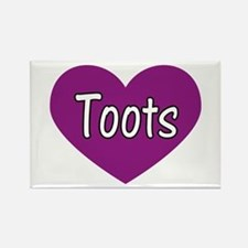 Toots Rectangle Magnet