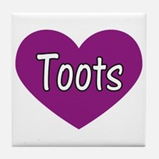 Toots Tile Coaster