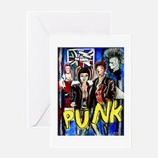Punk rock music alternative art with graffiti Gree