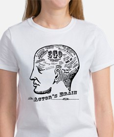 The Actor's Brain Ash Grey T-Shirt T-Shirt