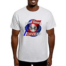 Coast Guard Diver w/ Bubble T-Shirt