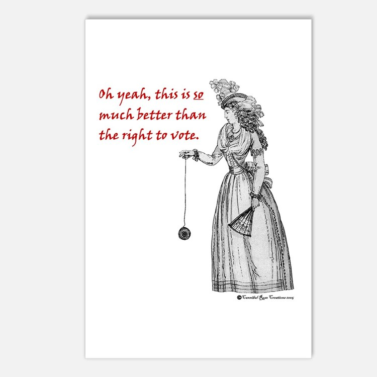Suffering Suffragette Postcards (Package of 8)