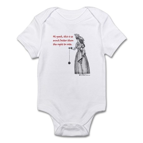 Suffering Suffragette Infant Bodysuit