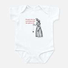 Suffering Suffragette Infant Bodysuit