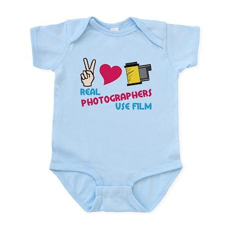 Real Photographers Infant Bodysuit