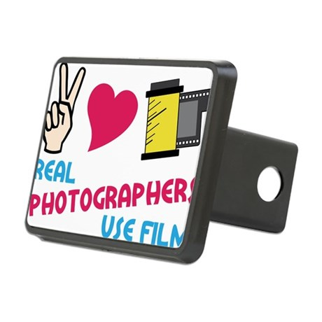 Real Photographers Rectangular Hitch Cover