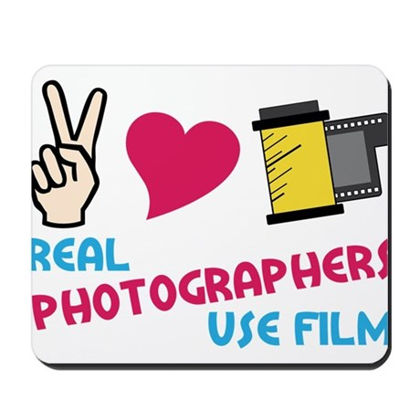 Real Photographers Mousepad
