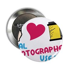 """Real Photographers 2.25"""" Button"""