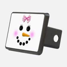 Snow Woman Hitch Cover