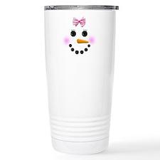 Snow Woman Travel Mug