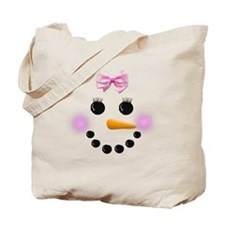 Snow Woman Tote Bag