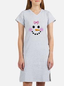 Snow Woman Women's Nightshirt