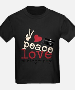 Peace Love Photography T