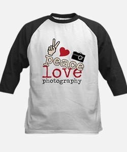 Peace Love Photography Tee