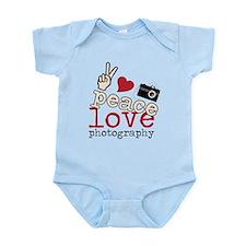 Peace Love Photography Infant Bodysuit