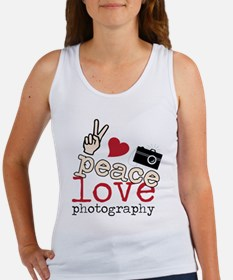 Peace Love Photography Women's Tank Top