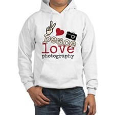 Peace Love Photography Hoodie