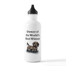 Worlds Best Wiener Water Bottle
