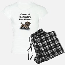 Worlds Best Wiener Pajamas