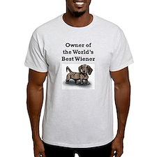 Worlds Best Wiener T-Shirt