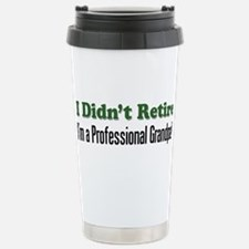Retirement gag Travel Mug
