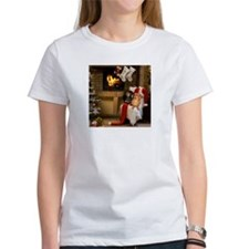 By the Fireplace Doxies Tee