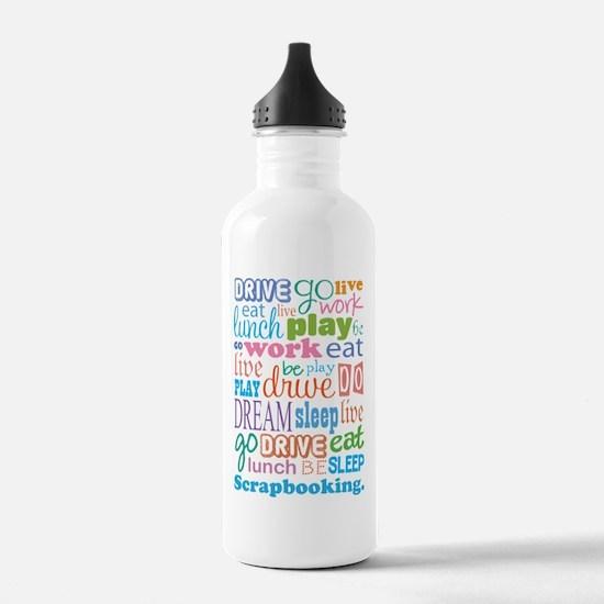 Scrapbooker Water Bottle