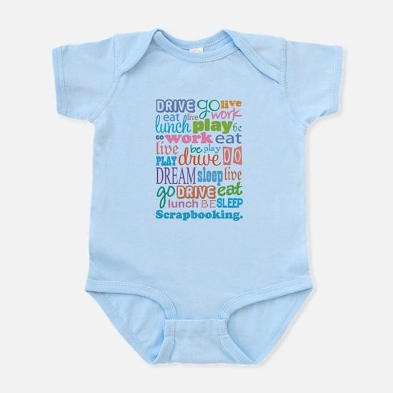 Scrapbooker Infant Bodysuit