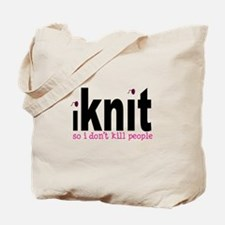 Unique Knitting Tote Bag