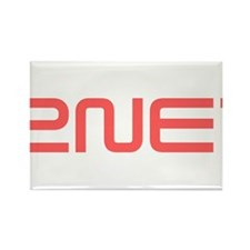 2NE1 red logo Rectangle Magnet
