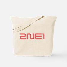 2NE1 red logo Tote Bag