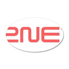 2NE1 red logo Wall Decal