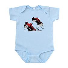 Tap Dancing Shoes Infant Bodysuit