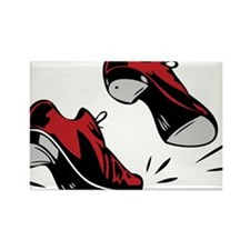 Tap Dancing Shoes Rectangle Magnet
