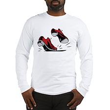 Tap Dancing Shoes Long Sleeve T-Shirt