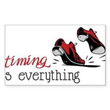 Timing Is Everything Bumper Stickers