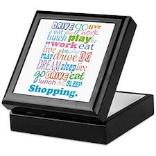 Shopaholic Keepsake Box