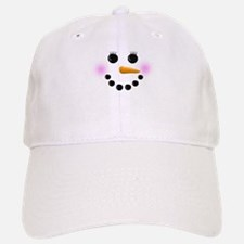 Snow Woman Face Baseball Baseball Cap