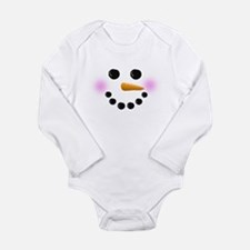 Snowman Face Baby Outfits