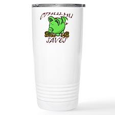 Cthulhu Saves Travel Coffee Mug