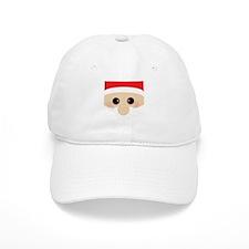 Santas Closeup Funny Baseball Cap