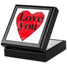 Love you Keepsake Box