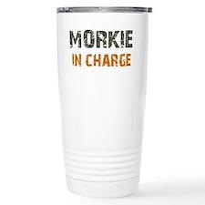Cute Yorkie and maltese Travel Mug