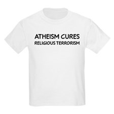 Atheism Cures Religious Terrorism T-Shirt
