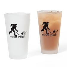 Bigfoot Strikes! Drinking Glass