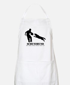 Schutzhund - My dog will fuck you up! Apron