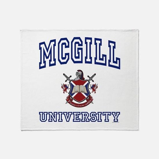 Cute Alumni Throw Blanket