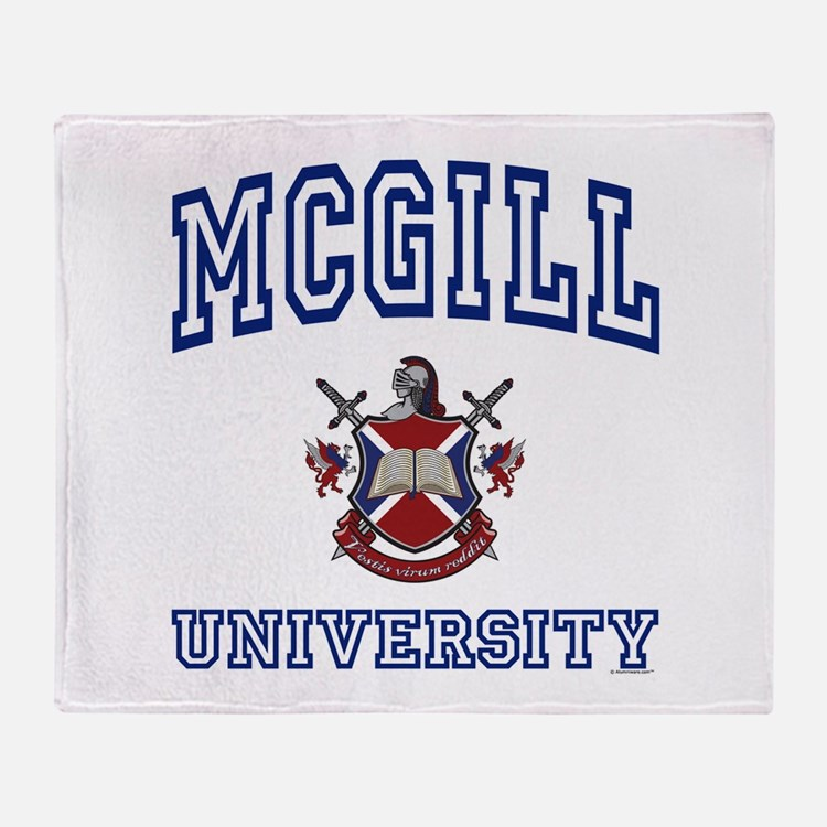 Cute Varsity Throw Blanket