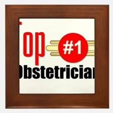 Top Obstetrician Framed Tile